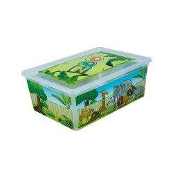 Кутия  с капак QT11008 - 10л