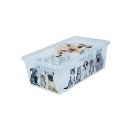 Кутия с капак QT10509 - 5л