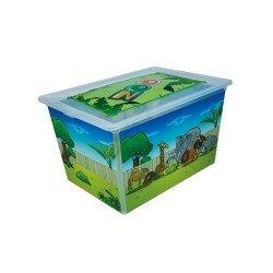 Кутия с капак QT15008 - 50л