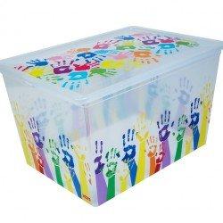 Кутия с капак  LB16000144 - 50л