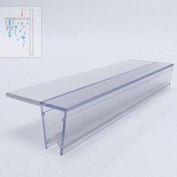 Силиконова лайсна за 6мм стъкло EMSF-01-6