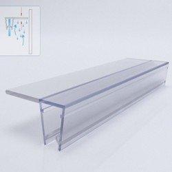 Силиконова лайсна за 8мм стъкло EMSF-01-8